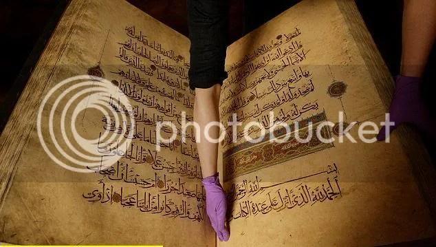 1 Al Quran Berusia Melebihi 500 Tahun
