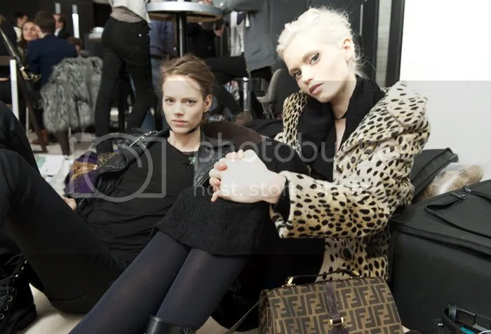 Freja and Abbey Lee