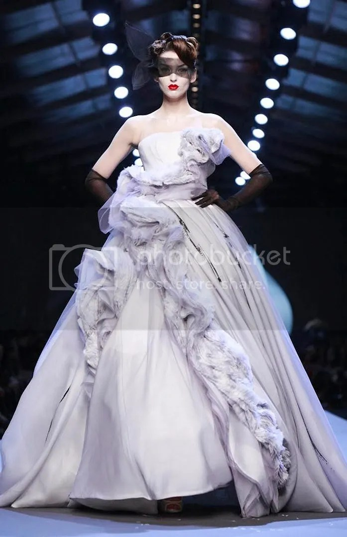 Georgina Christian Dior Couture Spring 2011