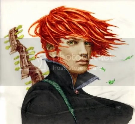fan art de Kvothe