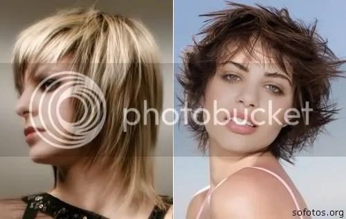 corte de cabelo curto feminino repicado