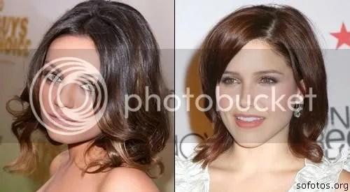 corte de cabelo para rosto redondo