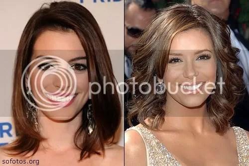 modelo de corte de cabelo feminino médio