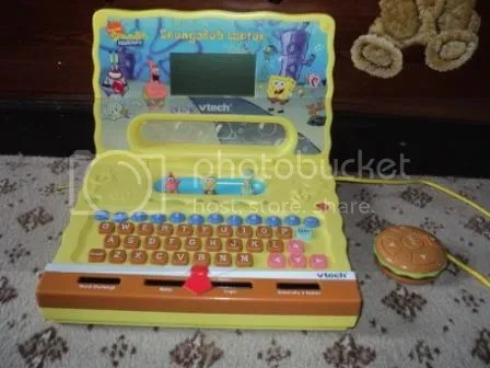 Image result for spongebob laptop