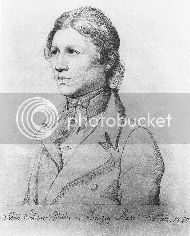 Julius Schnorr von Carolsfeld - Self-portrait(?)