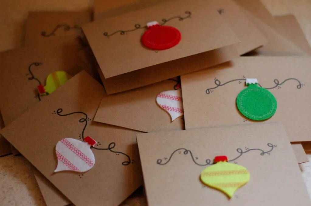 Homemade Christmas Cards Or Not