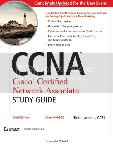 CCNA 640-802 Cisco Certified Network Associate Study Guide, 7th Edition (DVD + PDF)