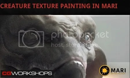 CGWorkShops - Creature Texture Painting in Mari