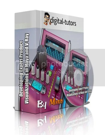 Digital-Tutors - Developing Expert Product Visualizations in Maya and V-Ray