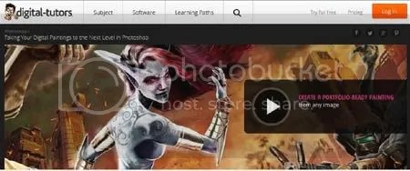 Digital Tutors - Taking Your Digital Paintings to the Next Level in Photoshop Training