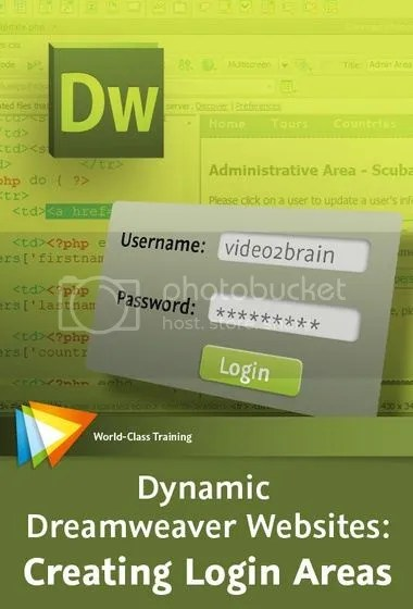 Video2Brain - Dynamic Dreamweaver Websites: Creating Login Areas