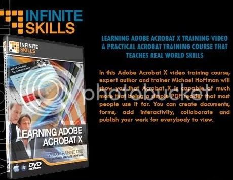 InfiniteSkills - Learning Adobe Acrobat X + Working Files