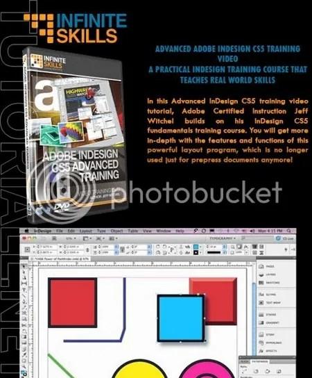 Infiniteskills - Adobe InDesign CS5 Advanced Training + Working Files