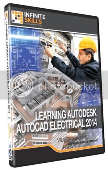 Infiniteskills - Learning AutoCAD Electrical 2014 Training DVD + Working Files