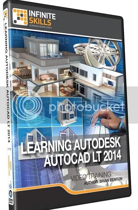 Infiniteskills - Learning Autodesk AutoCAD LT 2014 Training DVD + Working Files