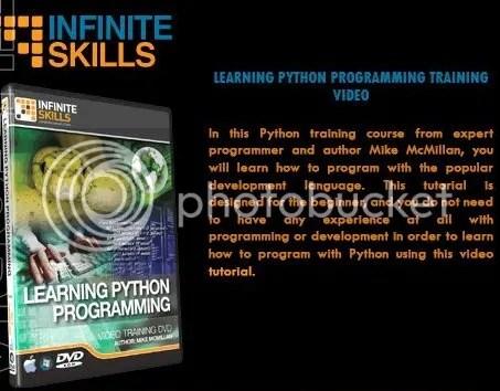 Infiniteskills - Learning Python Programming + Working Files