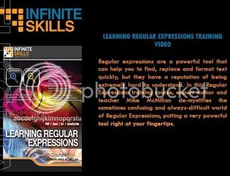 Infiniteskills - Learning Regular Expressions + Working Files