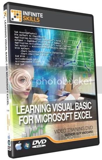 Infiniteskills - Learning Visual Basic for Microsoft Excel + Working Files