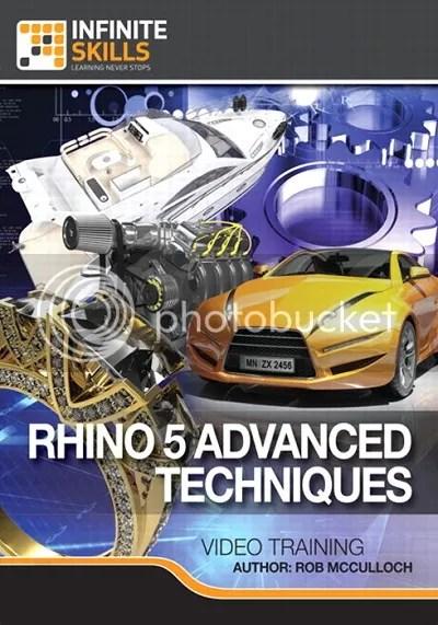 Infiniteskills: Rhino 5 Advanced Techniques Training Video