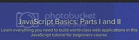 JavaScript Basics: Parts I and II