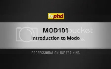 MDO101: Introduction to modo, Part 1