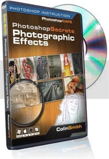 PhotoshopCAFE - Photoshop Secrets Photographic Effects Training