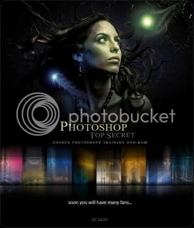 Photoshop Top Secret DVD 2 - Interactive Video Tutorial