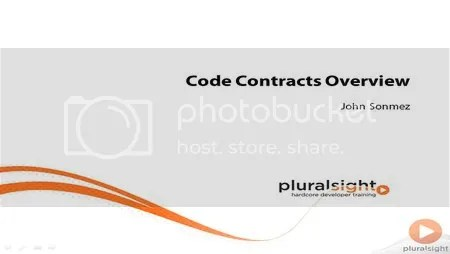 Pluralsight - Code Contracts Training