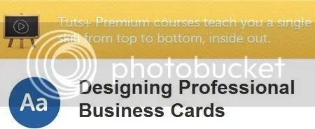 Tuts+ Premium - Designing Professional Business Cards