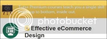 Tuts+ Premium - Effective eCommerce Design