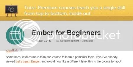 Tuts+ Premium - Ember for Beginners