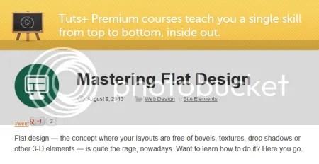 Tuts+ Premium - Mastering Flat Design