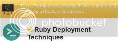 Tuts+ Premium - Ruby Deployment Techniques