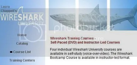 Wireshark University Training Courses