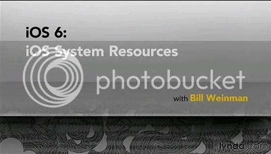 iOS 6: iOS System Resources Training