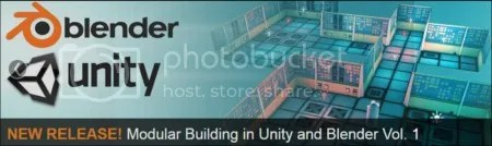 3DMotive - Modular Building in Unity and Blender Volume 3