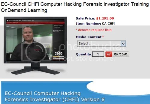 CareerAcademy - EC-Council Computer Hacking Forensic Investigator (CHFI v8 )Training