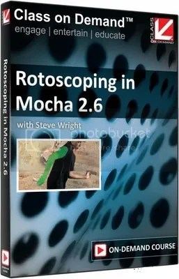 Class On Demand - Rotoscoping in Mocha 2.6