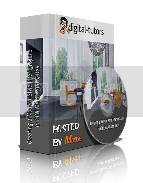 Digital Tutors - Creating a Modern-Style Interior Scene in CINEMA 4D and V-Ray Training