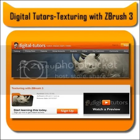 Digital Tutors - Texturing With Zbrush 3