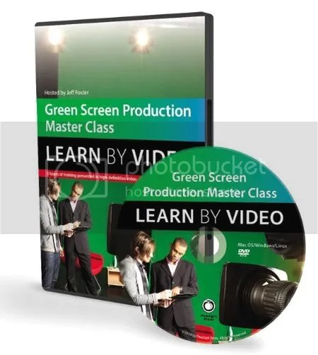 Green Screen Production Master Class Learn By Video With Jeff Foster
