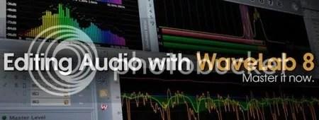 Groove3 Editing Audio with WaveLab 8