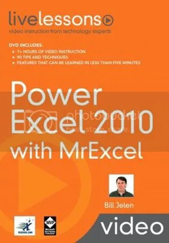 LiveLessons - Power Excel 2010 with MrExcel