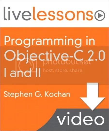 LiveLessons - Programming in Objective C 2.0