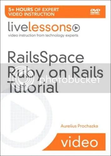 LiveLessons - RailsSpace Ruby on Rails