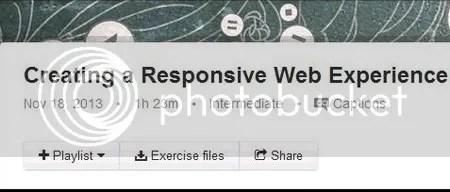 Lynda - Creating a Responsive Web Experience
