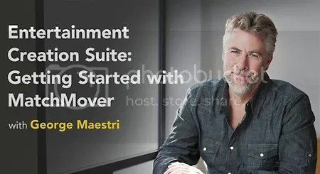 Lynda - Entertainment Creation Suite: Getting Started with MatchMover