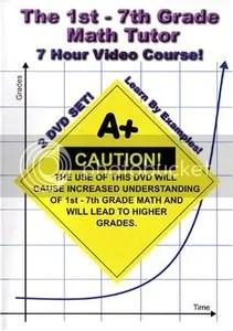 Math Tutor - 1st Through 7th Grade Math Training