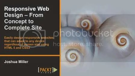 Packtpub - Responsive Web Design - From Concept to Complete Site