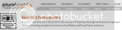 Pluralsight - Excel 2013 Fundamentals (2014)